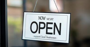 Restaurants re-opening