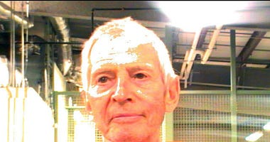 Pictured in Orleans Parish Prison, Robert Durst awaits trial on murder charges