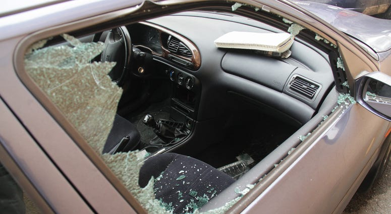 Cars victimized, savaged by marauding gangs