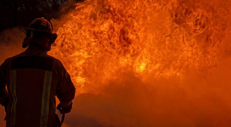 Chemical plant blast near LA border injures three