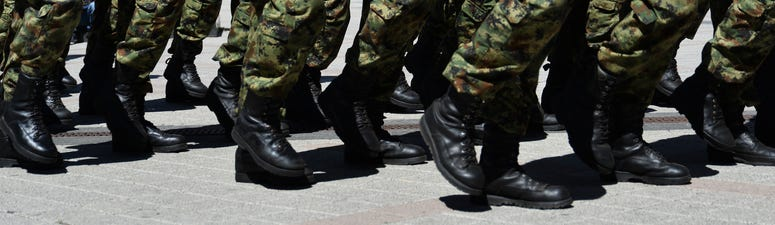Who pays? Governor wants feds to pay for National Guard