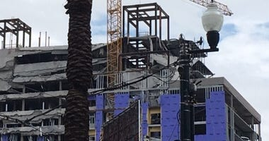 Hard Rock Hotel delay sparks new protest