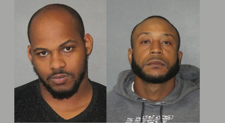 Devin Holland (L) and Antoine Robinson (R) face murder charges
