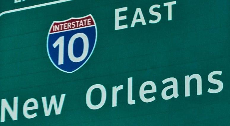 I10 sign
