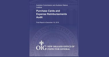 Inspector General report critical of Audubon Institute