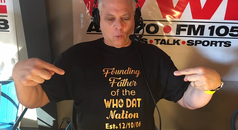 Bobby Hebert at WWL Radio Draft Fest
