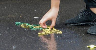Mardi Gras Rain