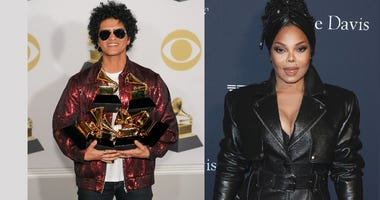 Bruno Mars and Janet Jackson