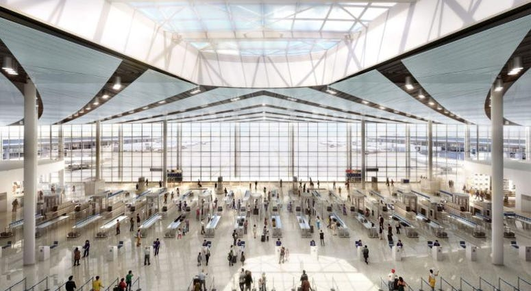 New Terminal ready for take off