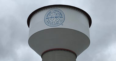 Sewerage & Water Board water tower