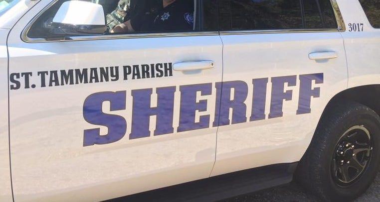 SAINT ST TAMMANY PARISH LOUISIANA round small SHERIFF POLICE PATCH