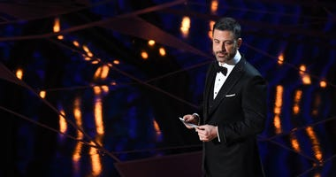 Jimmy Kimmel hosts the 90th Academy Awards at Dolby Theatre.