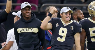 Drew Brees and Teddy Bridgewater