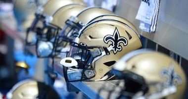 Saints helmets