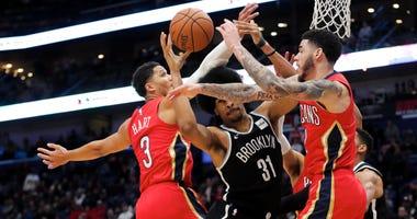 Pelicans vs. Nets