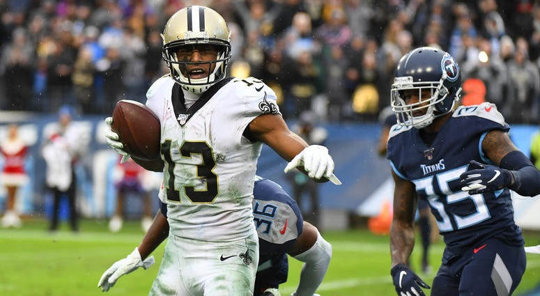Michael Thomas during win over Titans