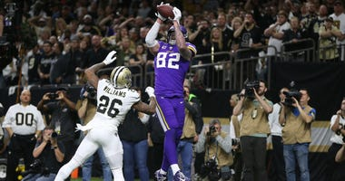 Saints lose to Vikings