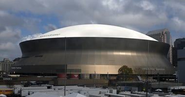 Exterior of the Superdome