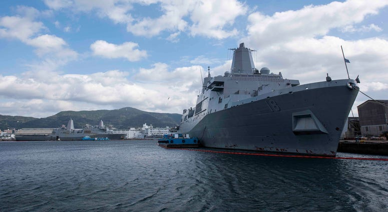 USS New Orleans arrives in Japan