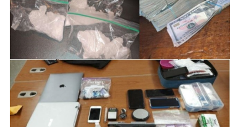 narcotics and weapons