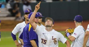 Alex Lange LSU baseball