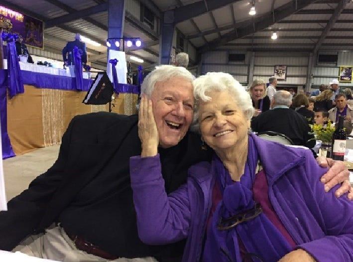 Bobby Hebert Sr. and Paula Hebert