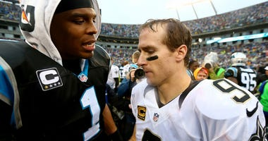 Drew Brees Cam Newton