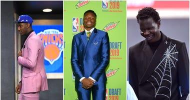 NBA Draft Fashion