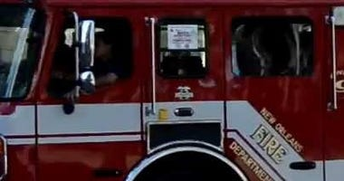 NOFD: Elderly woman severely burned in house fire across from fire house