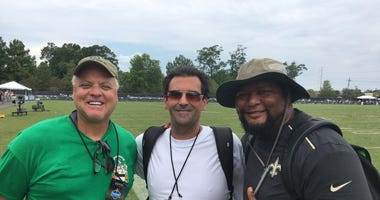 Bobby Hebert Deuce McAllister Deke Bellavia Saints Training camp