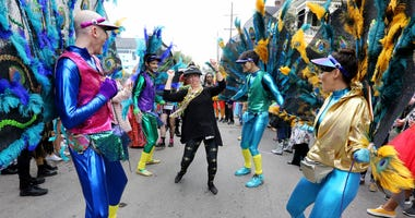 After tragedies, New Orleans celebrates end of Carnival