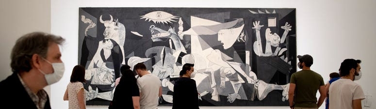 The Latest: Madrid's art museums reopen, but with rules