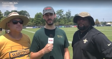 Bobby Hebert, Deuce McAllister, and Seth Dunlap react to day 3 of Saints training camp