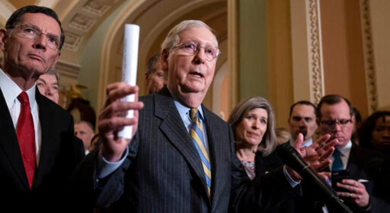 Impeachment paperwork goes to Senate today