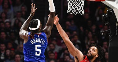 Montrezl Harrell Jahlil Okafor Clippers Pelicans
