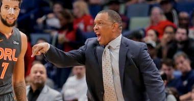 Pelicans Coach Alvin Gentry