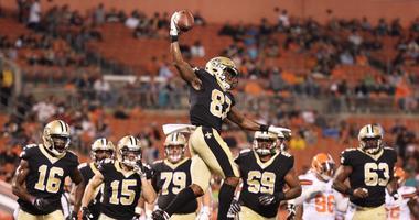 Tommylee Lewis Saints vs Browns preseason NFL