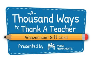 A Thousand Ways To Thank A Teacher