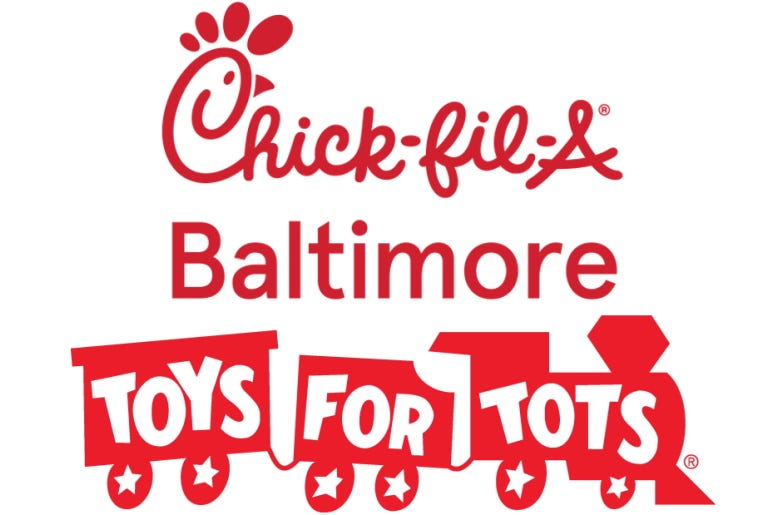 Chick fil a toys for tots