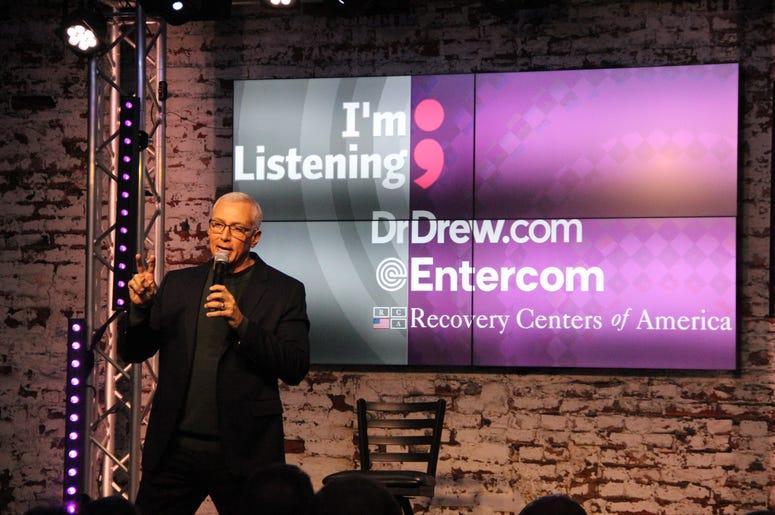 Dr.Drew at the Entercom Baltimore I'm Listening Event