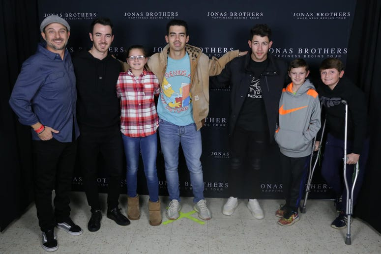Jonas Brothers and The Priestly Crew