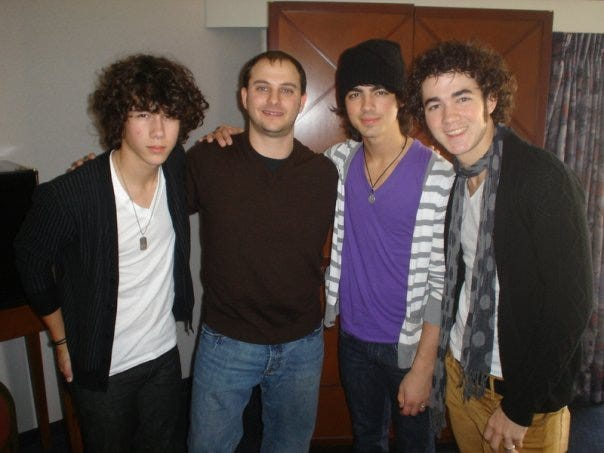 Priestly and The Jonas Brothers (est 2004)