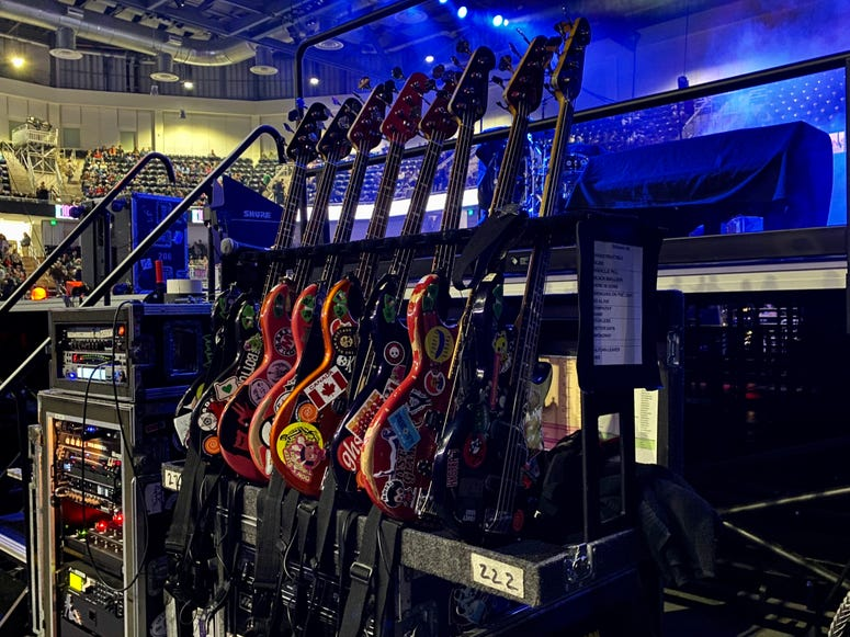 Guitars Side Stage