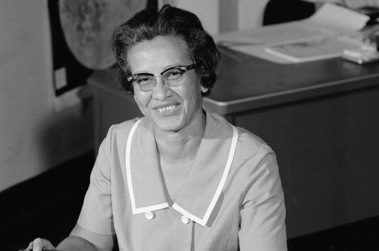 NASA: Mathematician Katherine Johnson at Work