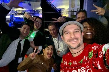Mix 1065 Deck The Hall Ball Crew!!!