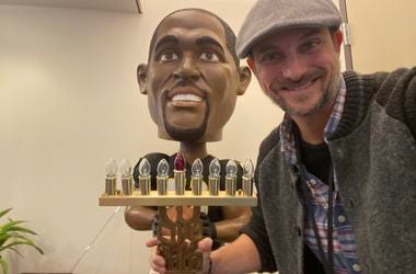 NOT Boyz II Menorah Priestly and Ray Ray Bobble Head)