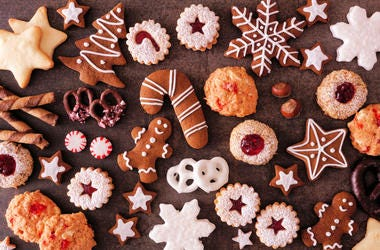 Maryland Christmas Cookie