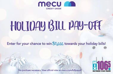 Holiday Bill Pay Off