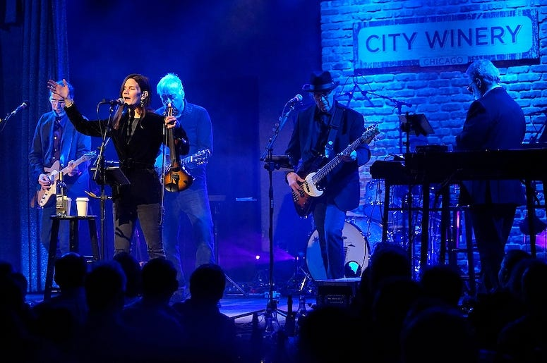 10,000 Maniacs performs live at City Winery Chicago