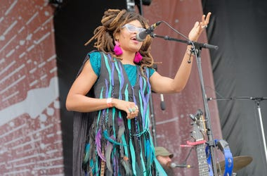 FRANKLIN, TN - SEPTEMBER 22: Valerie June performs onstage during day 1 of Pilgrimage Music & Cultural Festival 2018 on September 22, 2018 in Franklin, Tennessee. (Photo by Jason Kempin/Getty Images for Pilgrimage Music & Cultural Festival)